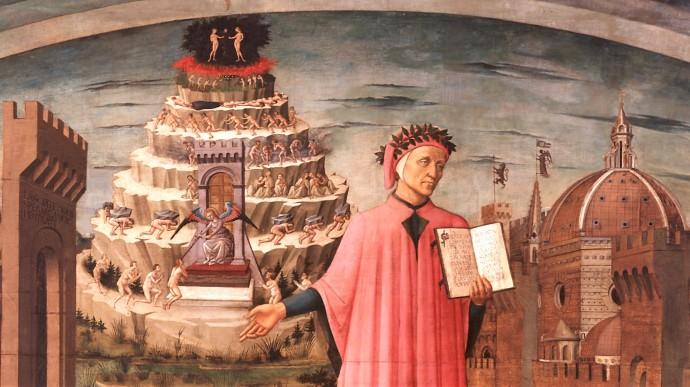 Dante's purgatory`