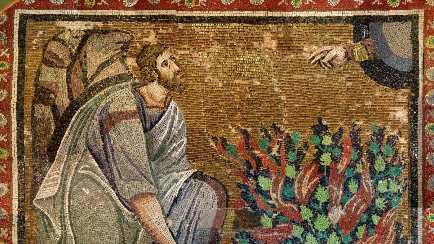 Mosaic of Moses, Monastery of St. Catherines