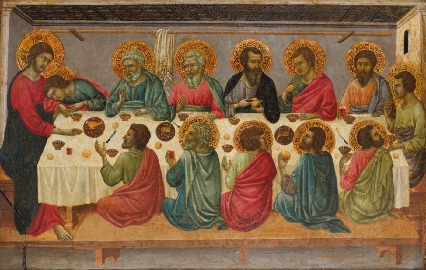 Last Supper, Ugolino da Siena, ca. 1326