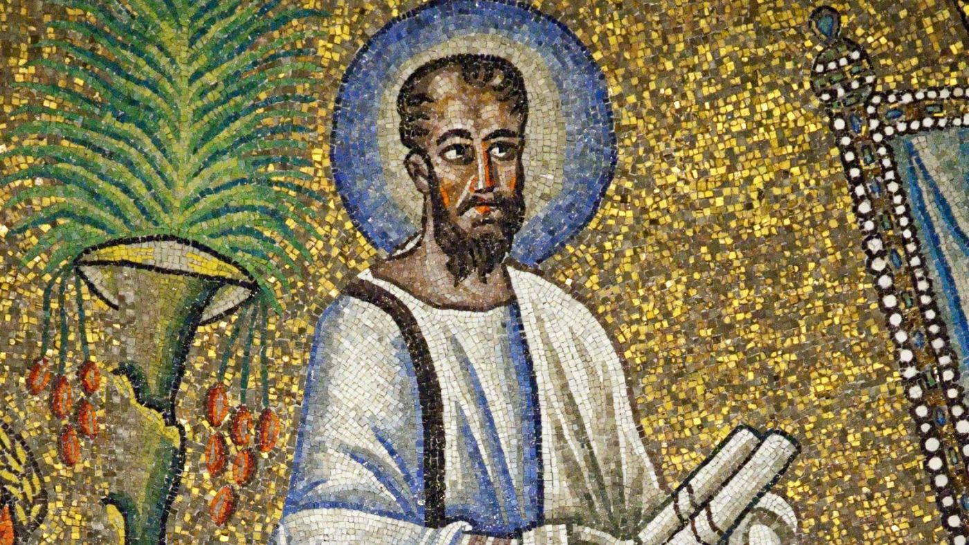 Saint Paul from the Arian Baptistery in Ravenna, Italy