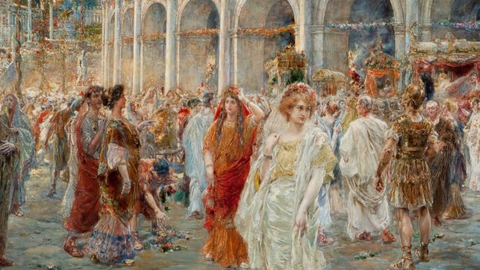 Pablo Salinas, The Roman Festivals of the Colosseum